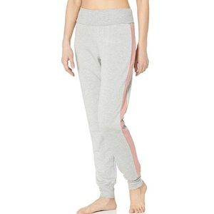 NWT Beyond Yoga Fold Over Color Streak Sweatpants